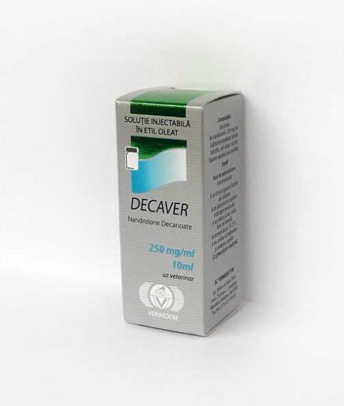 Decaver vial