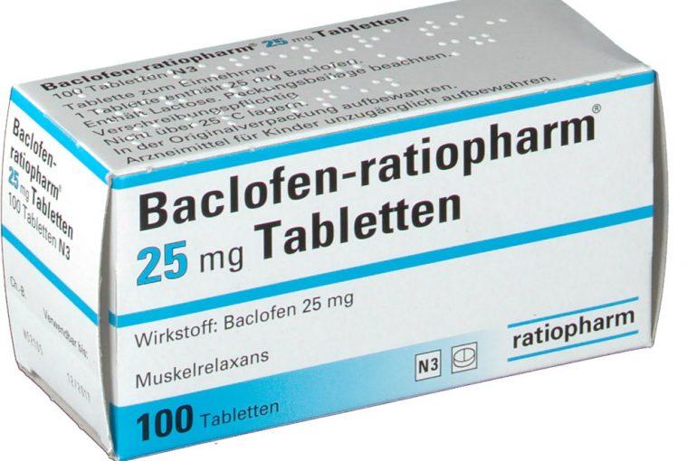 Baclofen 25MG – 30 Tabs