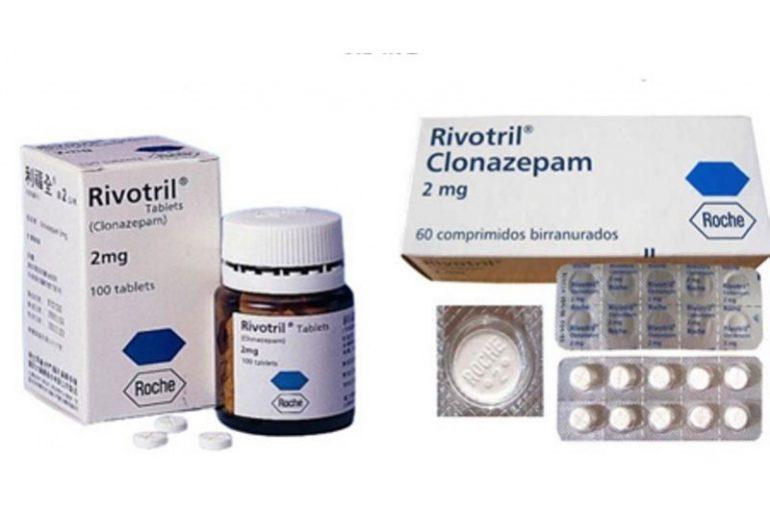 Clonazepam 2MG – 100 tabs