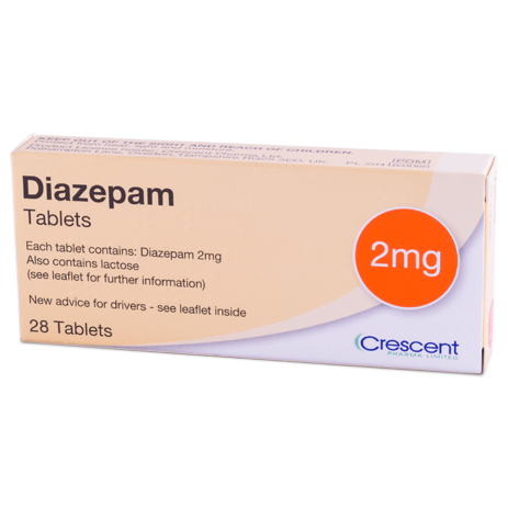 diazepam does not work