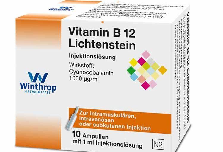 Vitamine B12 ampullen